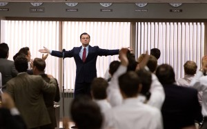"Leonardo DiCaprio as Jordan Belfort in ""The Wolf of Wall Street."" Paramount Pictures photo."