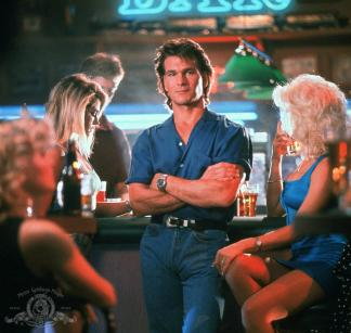 "Patrick Swayze in a still from the 1989 movie ""Road House.""  Courtesy of Metro-Goldwyn-Mayer Studios Inc."